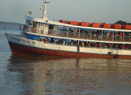 Tag 2-Bootsfahrt von Belem nach Marajó
