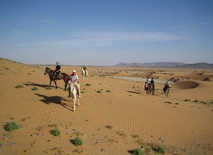 Tag 4 Wüste-Wanderritt Oasen & Sanddünen Tag 4