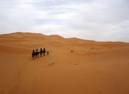 Tag 7 - 21.03.2020  Nomadenzeltlager-Marokko Tafilalet Wanderitt Tag 7