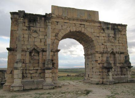 Tag 8  Abreise-Marokko Königsstädte Volubilis