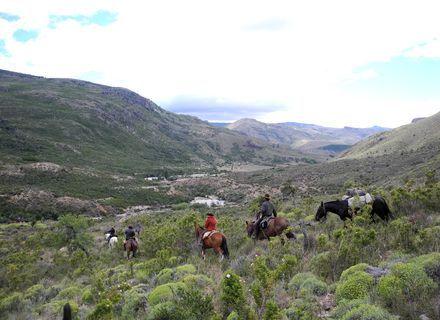Tag 7  El Sapucai - Puesto Viejo - Bariloche-Panoama der Anden