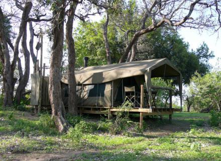 Tag 1 Camp Two Mashatus-Zelt im Camp Two Mashatus