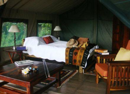 Tag 2 Kujwana Camp-Zelt im Kujwana Camp