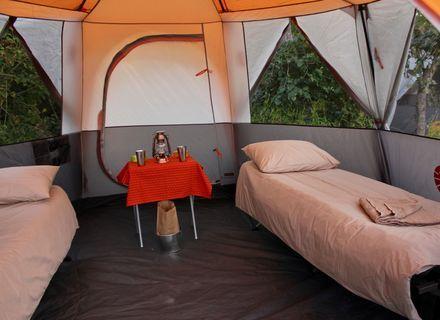 -Innenansicht Zelt