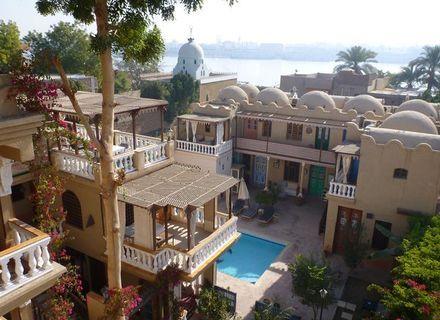 Tag 1  Anreise nach Hurghada und Luxor-Villa Nile Guest House