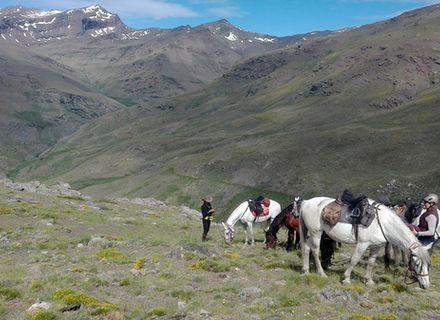 Tag 6  Trevelez -Verschnaufpause für Pferd und Reiter