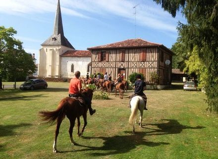 Tag 4 / Mittwoch - St. Julien - Mezos - Lévignacq - Lesperon-