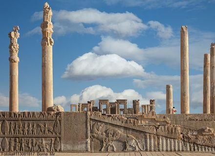 Tag 3 / 19. Februar / Besichtigungen in Persepolis-