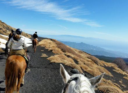 Tag 6  -  Naturpark Ätna-Sizilien - Wanderritt von Cefalù zum Vulkan Ätna