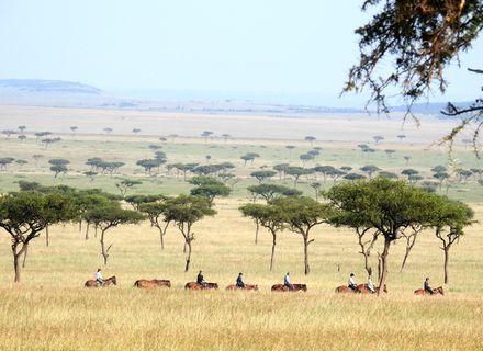 Tag 7 - Olare Lamun Camp-Kenia Reitsafari Maasai Mara Conservancies