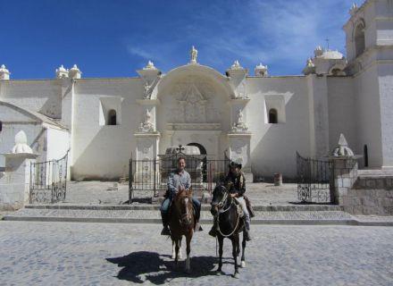 Tag 1 Anreise nach Arequipa-