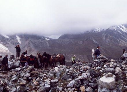 Tag 4 Ritt über den Salkantay Pass-