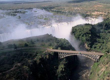 Tag 7-Victoria Falls Brücke