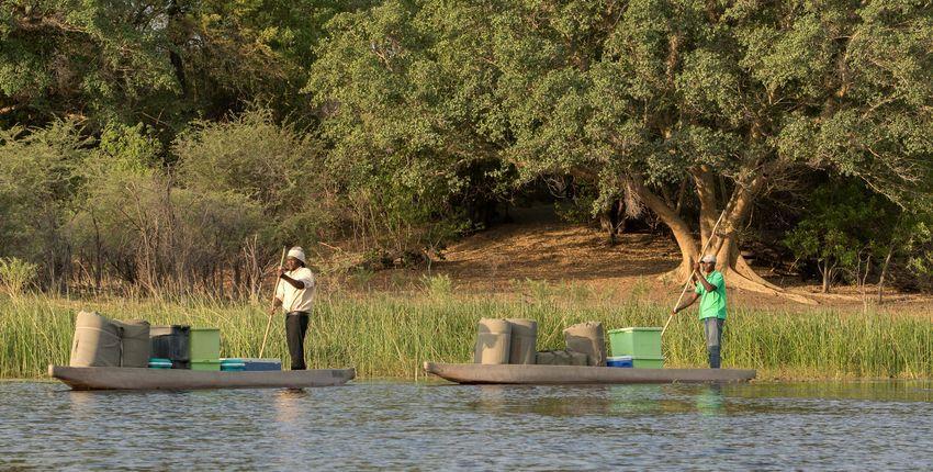Mobile Reitsafari im Okavango Delta