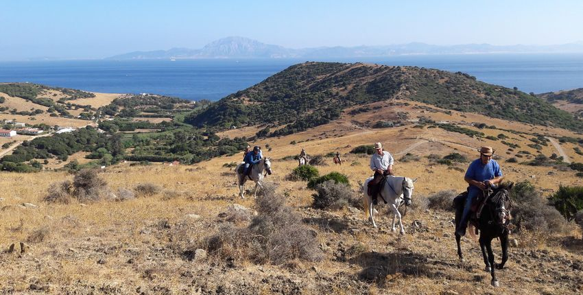 Wanderritt Campo de Gibraltar