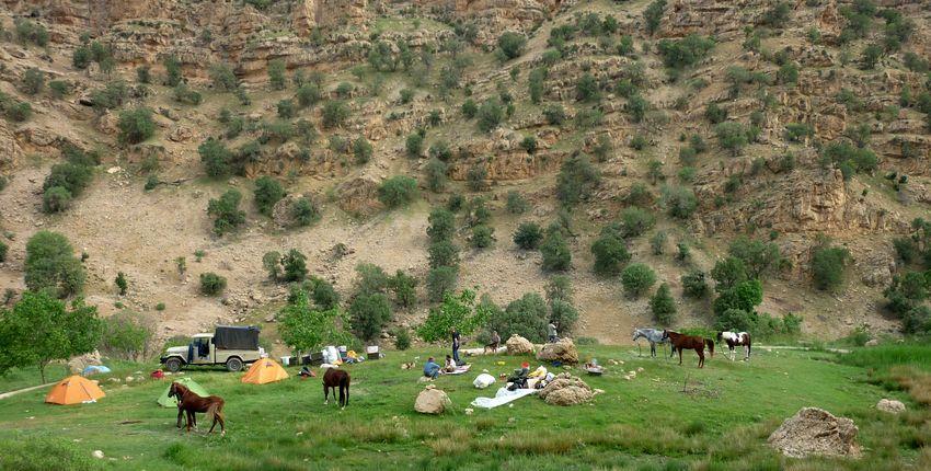 Nomaden-Ritt im Zagros Gebirge mit Isfahan