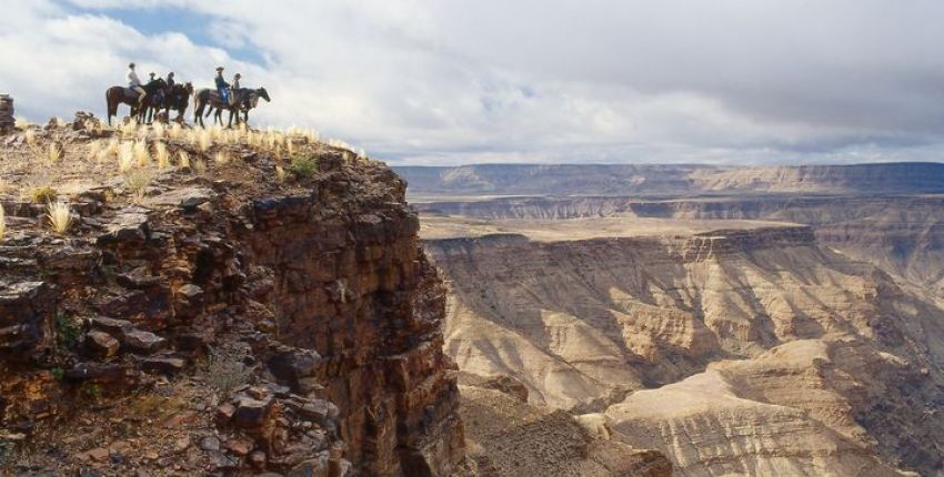Wanderritt durch den Fish River Canyon
