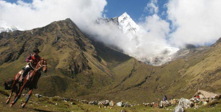 Wanderritt auf dem Salkantay Inka Trail