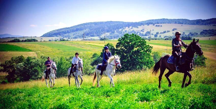 Wanderritt in Transsylvanien