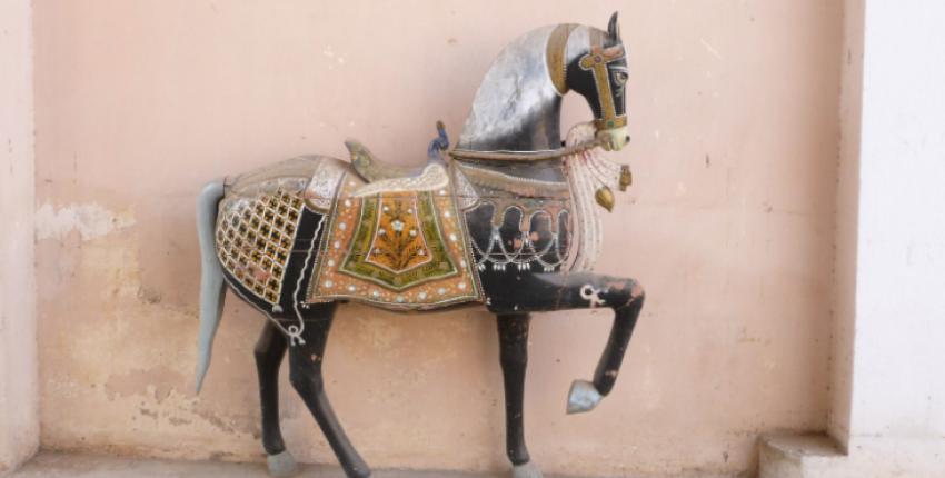 Indien - Marwari Statue in Rajasthan