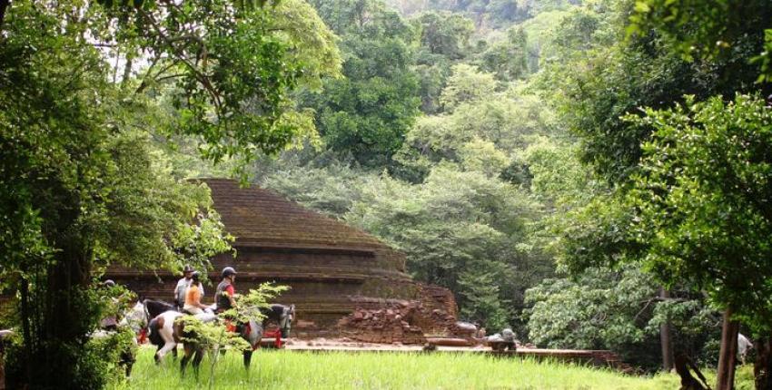 Sri Lanka - Tempel im Hochland