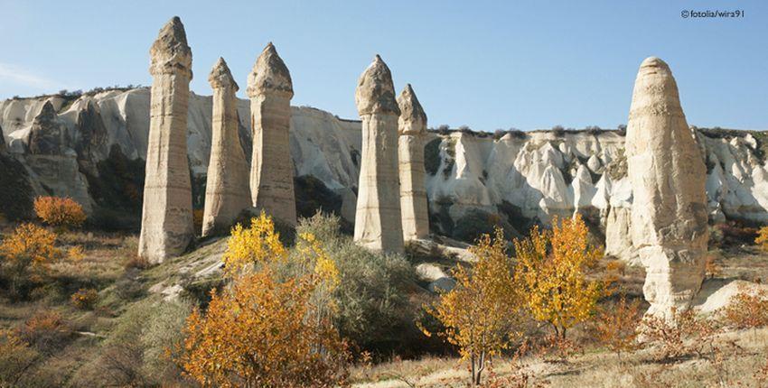 Türkei-Kappadokien-Feenkamine