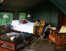 Zelt im Kujwana Camp