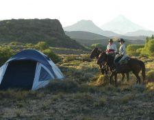 Argentinien-Wanderritt-Camp