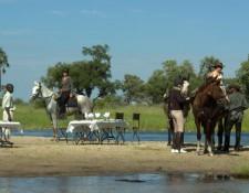 Okavango Delta - Picknick-Lunch