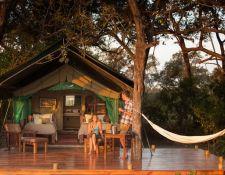 Okavango Delta - Camp Macatoo Zelt