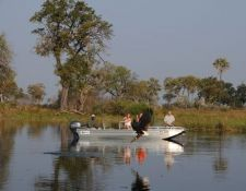 Okavango Delta - Bootsfahrt