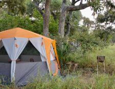 Zelt im mobilen Reitercamp