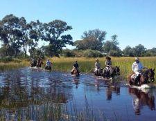 Okavango Delta unter Wasser