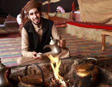 Arabischer Kaffee oder Tee