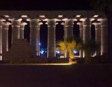 Lichtshow Karnak Tempel