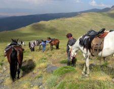Buena Vista Ritt Pause für Pferd und Reiter