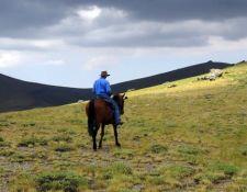 Buena Vista  Ritt unterwegs auf den Gipfel