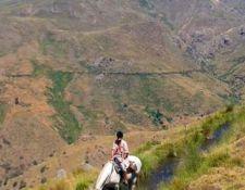 hoch über dem Tal Poqueira