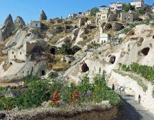 Dorf Uchisar in Kappadokien