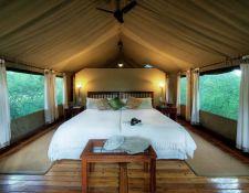 Zelt in der Royal Tree Lodge